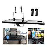 Car Laptop Desk Multi-function Computer Rack Tray Car table Fit Car Steering Wheel Seat Headrest for Computer Work Tablet PC Writing Reading Office Lunch Break