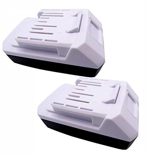 Golem-Power 2 X BL1820G Batería BL1813G BL1811G 195608-4 para Makita Taladro eléctrico HP457D TD127D 195608-4 DF457D HP457D JV183D TD127D UR180D UH522D CL183D (2000mAh 18V)