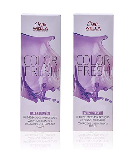 Wella Color Fresh 10/81 hellblond duo Pack (2 x 75 ml)