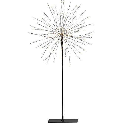 Star Erwachsene Leuchte 3D-LED-Standstern'Firework', schwarz, circa 25x50 cm, 710-02-1