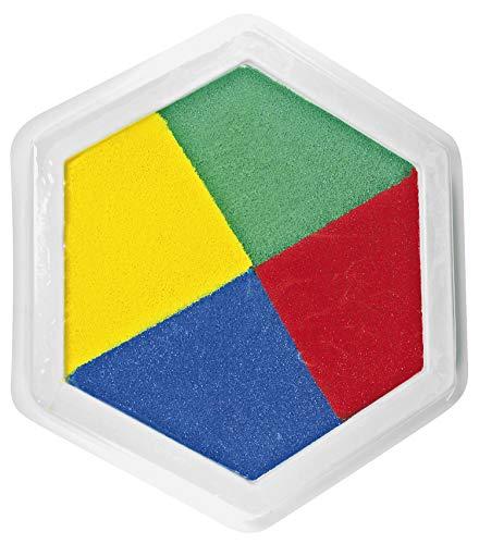 Eduplay 220023 - Stempelkissen, 4-farbig, multicolor