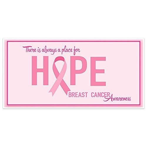 Amazon Com Hope Breast Cancer Awareness Banner Handmade