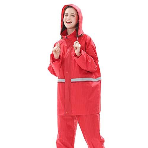 TO DREAM Regenjas Vrouwen, Waterdichte Regenpak Winter Thermische Ademende Fietskleding Casual en Outdoor Stijl Outdoor Werk
