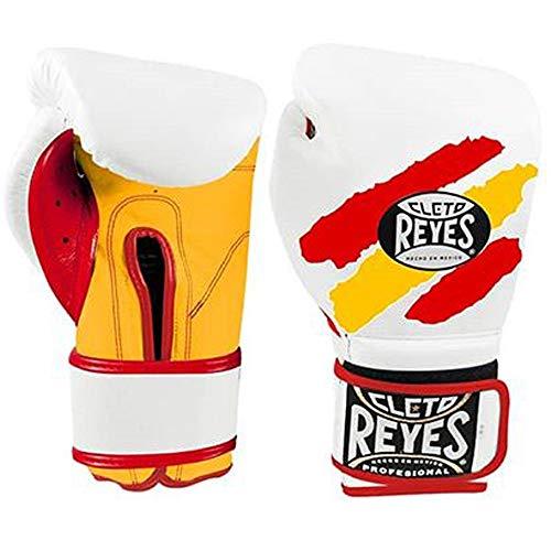 CLETO REYES CE614ESP Trainingshandschuhe für Erwachsene, Unisex, Rot/Gelb, 14 0z