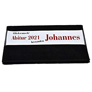 Bedruckte Frottiere Handtücher oder Bade/Duschtücher – Abigeschenke – Motiv 4″Abi 2021″ mit Ihrem Wunschnamen in 14 Farben zur Auswahl und 2 Größen