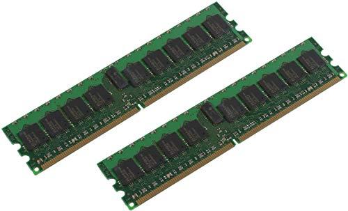 MicroMemory Kit 2x2GB DDR2 400Mhz ECC/REG módulo de - Memor