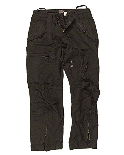 Pantalon Pilote Coton Prewash Noir Noir - 32