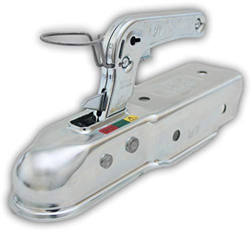 SPP Kugelkupplung ZSK-7501 800 kg. 60 mm Vierkant für Anhänger Humbaur Oben/seitlich (identisch wie Winterhoff WW 8-G) Zugmaul Zugkugelkupplung 061.00023