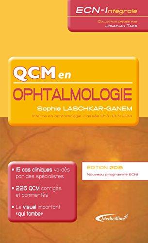QCM en Ophtalmologie (ECN-Intégrale) (French Edition)