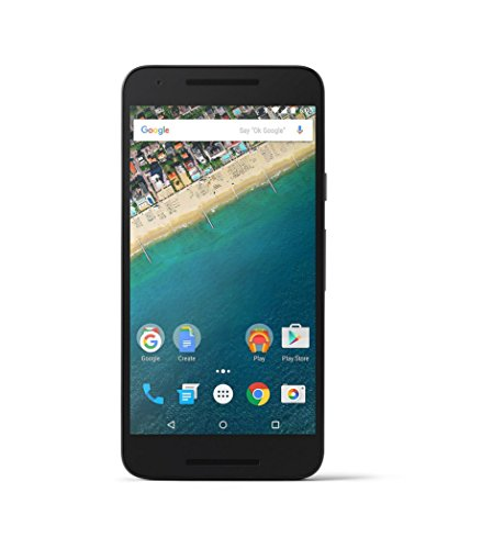 LG Google Nexus 5X H791 32GB Factory Unlocked GSM 4G LTE Hexa-Core Smartphone w/ 12.3MP Camera - Carbon Black (Renewed)