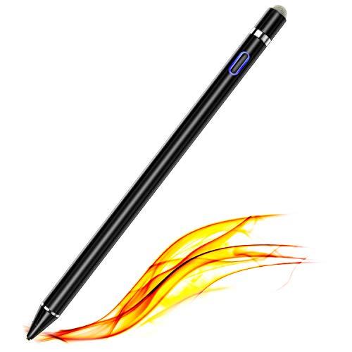 Aktiver Stylus Stift für Touchscreens, Kompatibel mit iPhone 6/7/8/X/XR/11, iPad Pro/Mini/Air, Samsung Handy zum Zeichnen und Handschreiben auf Touchscreen-Smartphones und Tablets (iOS/Android)