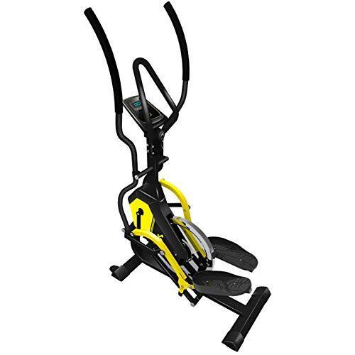 BAHAOMI Fitness Máquina Elíptica,Entrenador De Resistencia,Bicicleta Elíptica para Casa Multifuncional,Cross-Trainer,Stepper,Ajuste De Resistencia De 8 Velocidades,3 Modos De Pendiente