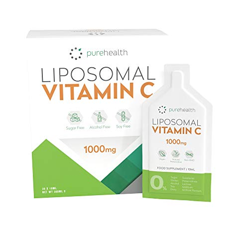 The Purest, Most Bioavailable Liposomal Vitamin C On The Market 1000mg 30 Daily Sachets . No Sweetener, No Soy, No Alcohol All Natural Ingredients.
