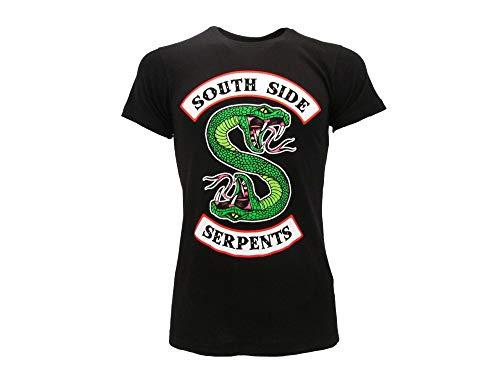 Riverdale Fashion UK - South River Serpents T-Shirt Original Officiel (XS Extra Small)