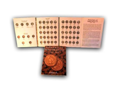 Flying Eagle and Indian Cent HE Harris Coin Folder