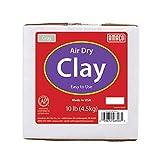 AMACO Air Dry Clay, Gray, 10 lbs, Grey