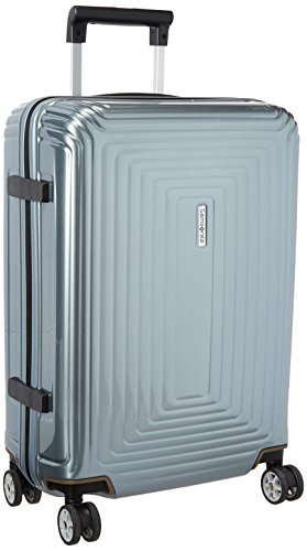 Samsonite Neopulse Hardside Luggage with Spinner Wheels, Metallic Silver, Carry-On 20-Inch
