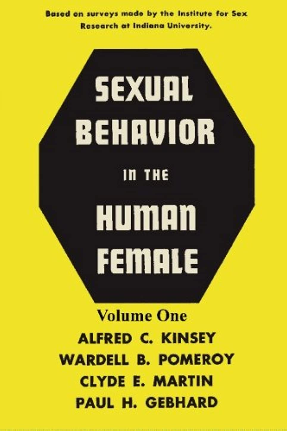 約設定テニスタヒチSexual Behavior in the Human Female, Volume 1