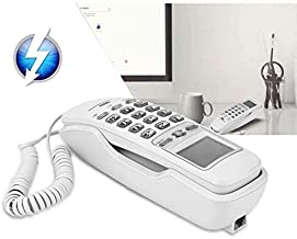 Sponsored Ad - Wired Corded Phones - One-Button Redials Wall Telephones Call - Office Landline Telephone with Bracket - Ho... photo