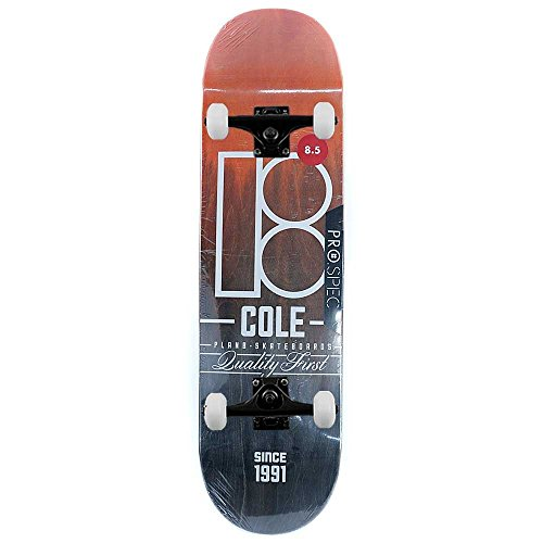 Plan B Skateboards Chris Cole split complete skateboard Pro 21,6 cm