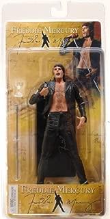 NECA 7 Inch Action Figure Freddie Mercury [1970's Leather Look]