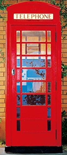 IdealDecor fotobehang deur, kleurrijk