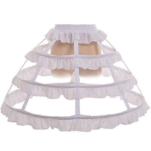 GRACEART Petticoat Krinoline Unterrock
