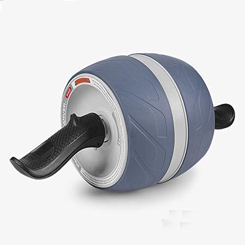 LSSLA AB Walze Bauchrad Bauchräder Für Anfänger Muskeltrainer Gym Home Fitness Workout Muskeltrainer,Grau