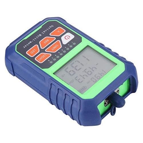 KIKYO Medidor de Potencia de Fibra óptica con Conector FC/SC/ST Medidor de Potencia óptica Equipo de Herramientas de Prueba de Fibra