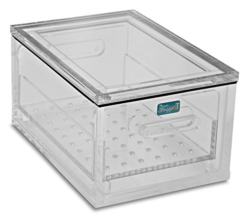 TrippNT 51397 Acrylic Portable Personal Desiccator, 10