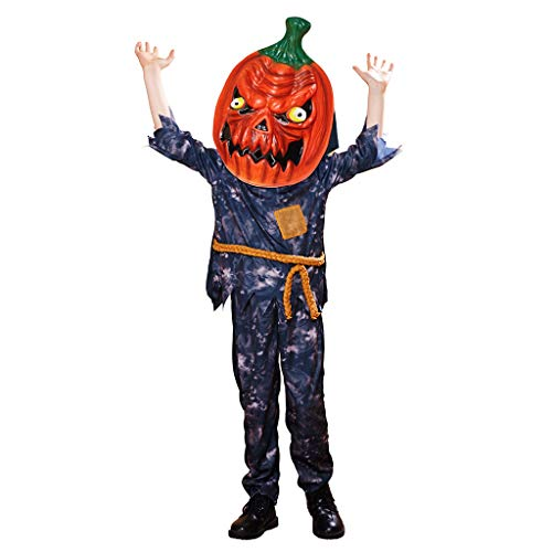 EraSpooky Disfraz de Diablo de Calabaza Disfraces Cosplay Divertido Traje de Fiesta de Halloween
