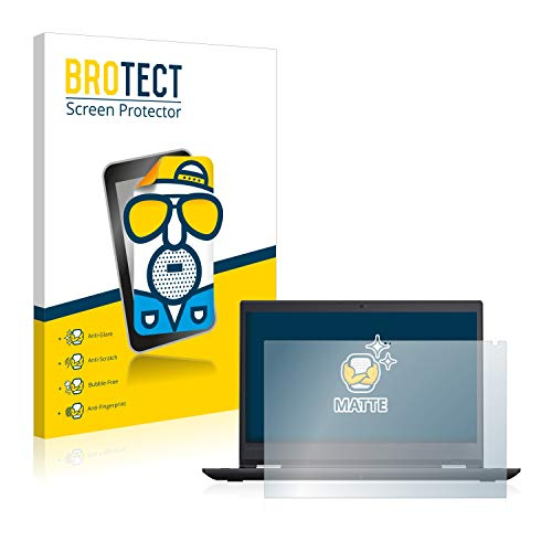 BROTECT Entspiegelungs-Schutzfolie kompatibel mit Lenovo TinkPad Yoga 370 Bildschirmschutz-Folie Matt, Anti-Reflex, Anti-Fingerprint