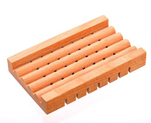 SAebevAerkstedet Porte-savon en bois de chêne 100 g