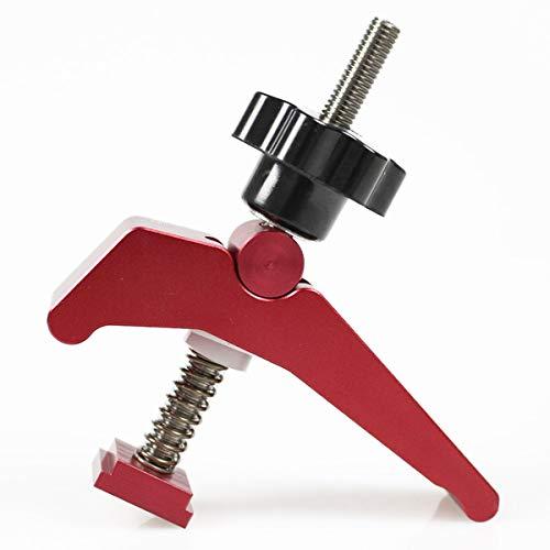 Schnellspanner Halteklammer T-Nut T Schienenklemm Set Holzbearbeitungswerkzeuge