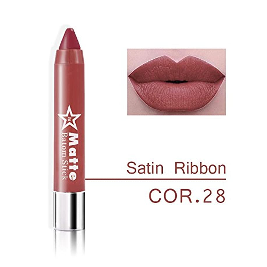 名誉あるオーロック卒業Miss Rose Brand lips Matte Moisturizing Lipstick Makeup Lipsticks Waterproof matte Lip gloss Mate Lipsticks Make up