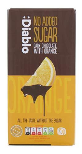 No Added Sugar Dark Chocolate with Orange - 75g