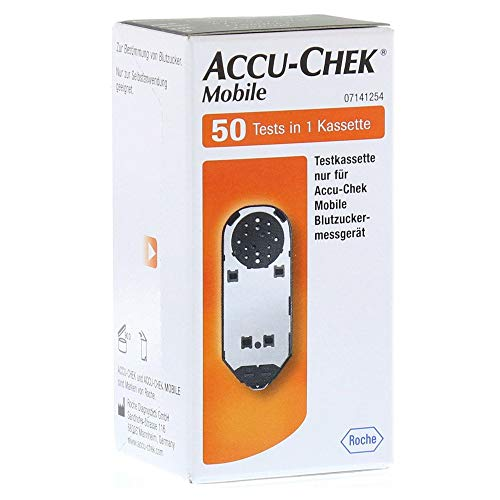 Roche Diagnostics ACCU CHEK Mobile Testkassette 50 Stück 10270545