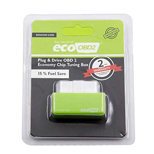 Shoppy Lab Nitro Eco Módulo Adicional Ahorro de Combustible Coche Gasolina Obd2 Chip Tuning Universal