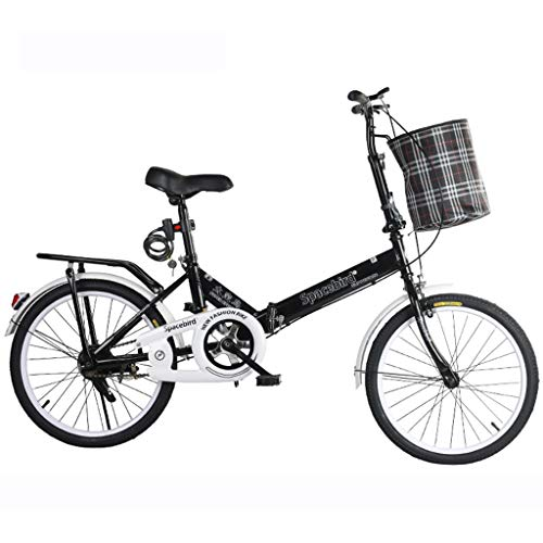 Hmvlw bicicletas de montaña Bicicletas de peso ligero de cercanías de la ciudad de bicicletas de montaña bicicletas plegables, bicis de velocidad variable bicicleta plegable Hombre Mujer señora adulta