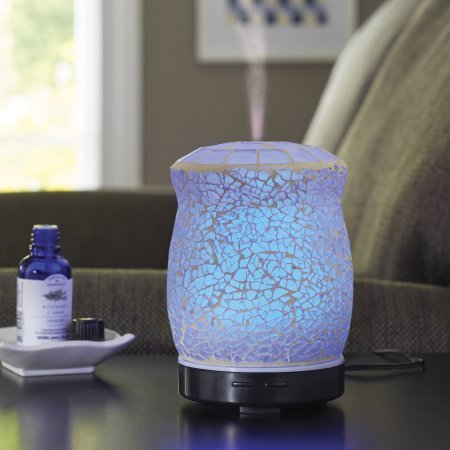 Better Homes and Gardens Essential Oil Diffuser, Crackle Mosaic by Better Homes & Gardens