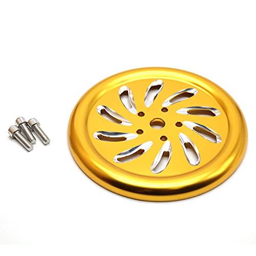 CNC Accesorios de motocicleta Cubierta del motor Protector de ventilador Protector de radiador para Vespa Sprint Primavera 150 125 LX150 LX125 2013-2020 (color oro)