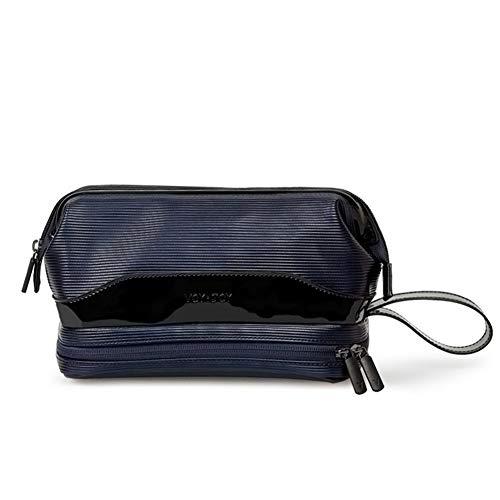 PoplarSun Voyage Sac de Rangement Sac de Maquillage imperméable Sac cosmétique d'affaires Organisateur Cas Necessaries Wash Sac de Toilette Bain (Color : Blue)