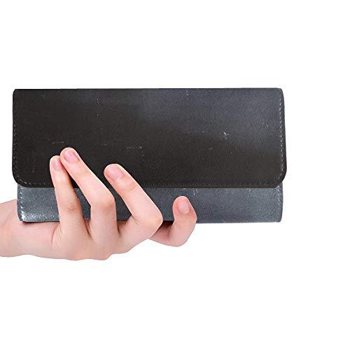 Einzigartige benutzerdefinierte Leere Tafel farbige Kreiden Radiergummi Licht Frauen Trifold Wallet Lange Geldbörse Kreditkarteninhaber Fall Handtasche