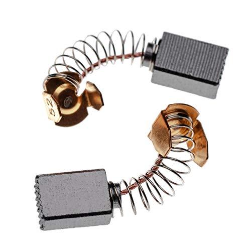 vhbw 2x Escobillas, carbonos, escobillas de carbono 5 x 8 x 11mm compatible con Makita 3705S, 4204N, 5000SBR, 6905B, 6905BS, 6905V, 906H herramientas