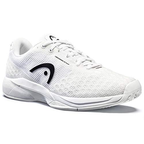 HEAD Men's Revolt Pro 3.5 Tennis Shoe, White/White, 10
