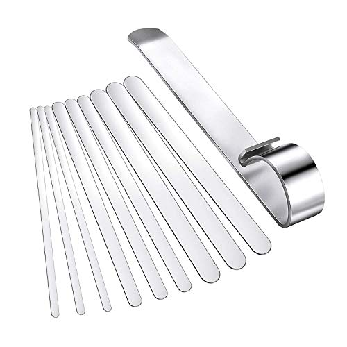freneci Bracelet Bending Bar Kit for Bending Metal Stamping Blank Bracelets Bangles