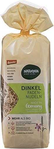 Naturata Bio Fadennudeln Dinkel hell (6 x 250 gr)