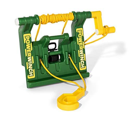 Rolly Toys rollyPowerwinch Seilwinde John Deere (für RollyToys Fahrzeuge, Montage an Front- oder Heckkupplung)