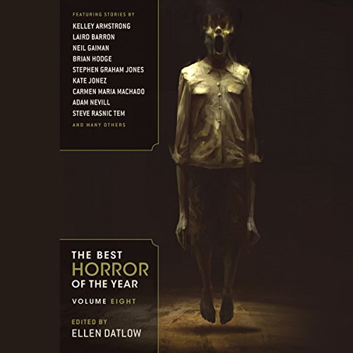 The Best Horror of the Year, Volume Eight audiobook cover art