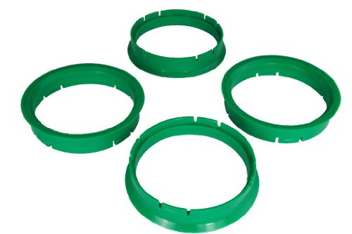 4 Zentrierringe 65,0 mm - 58,1 mm